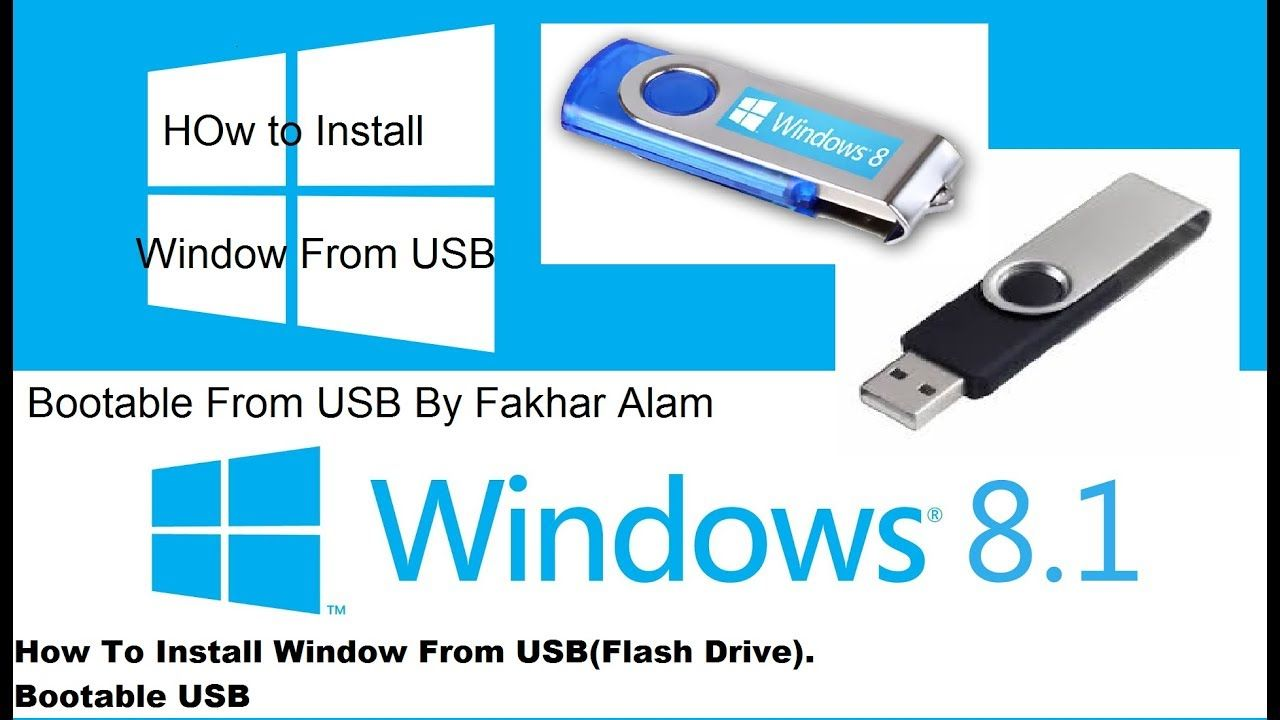 How to download and Install windows 8 1 pro from USB|Bootable