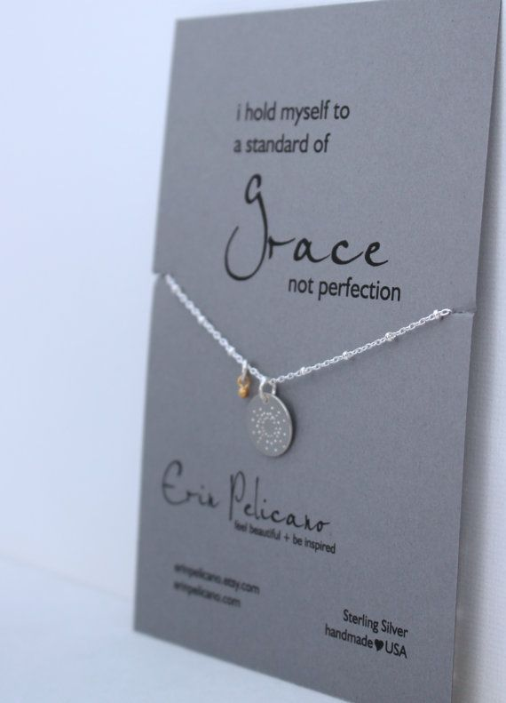 Have Courage and Be Kind Inspirational Necklace Inspirational Gifts for Women