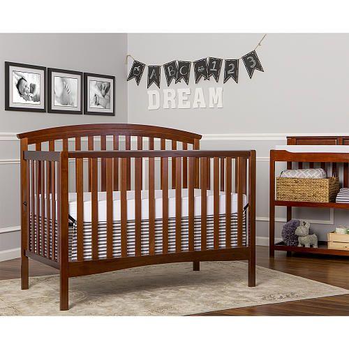 Dream On Me Eden 4 In 1 Convertible Espresso Dream On Me Babies R Us Furniture Convertible Crib Cribs