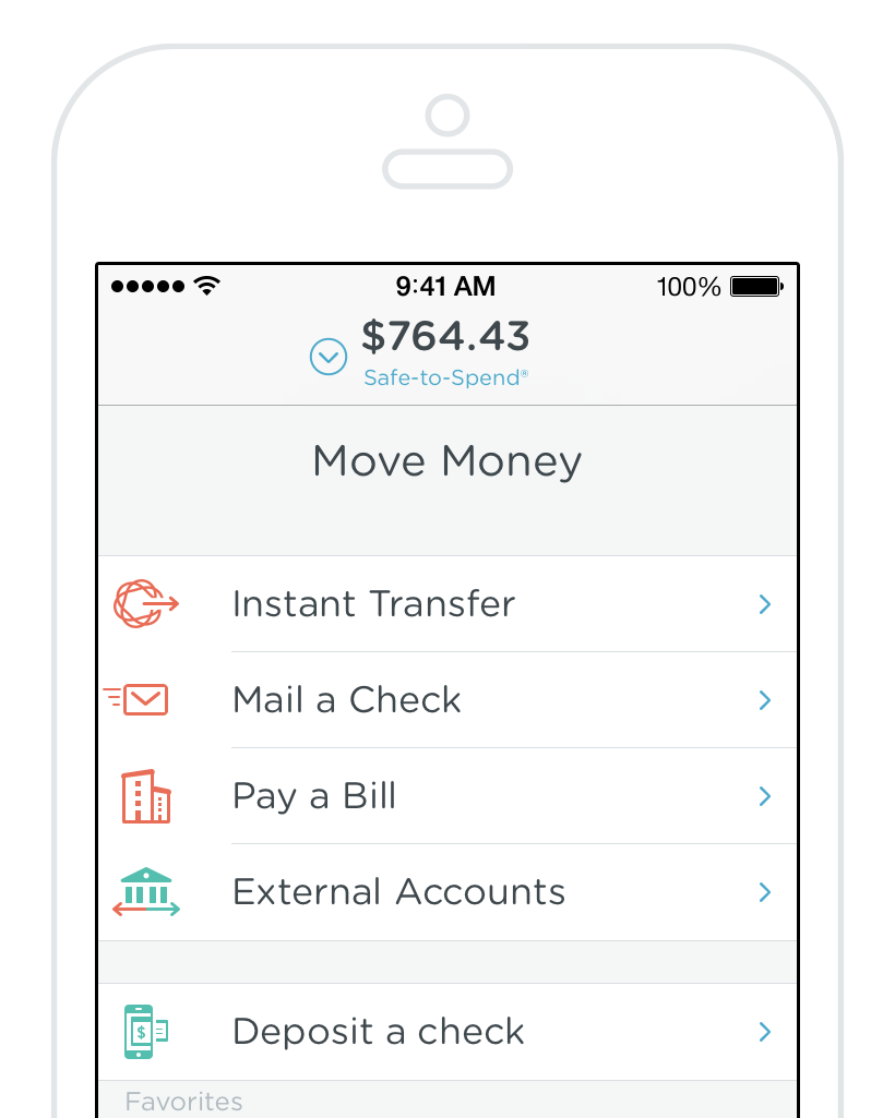 Simple Online Banking With Automatic Budgeting Savings Banking App Personal Finance App Budgeting