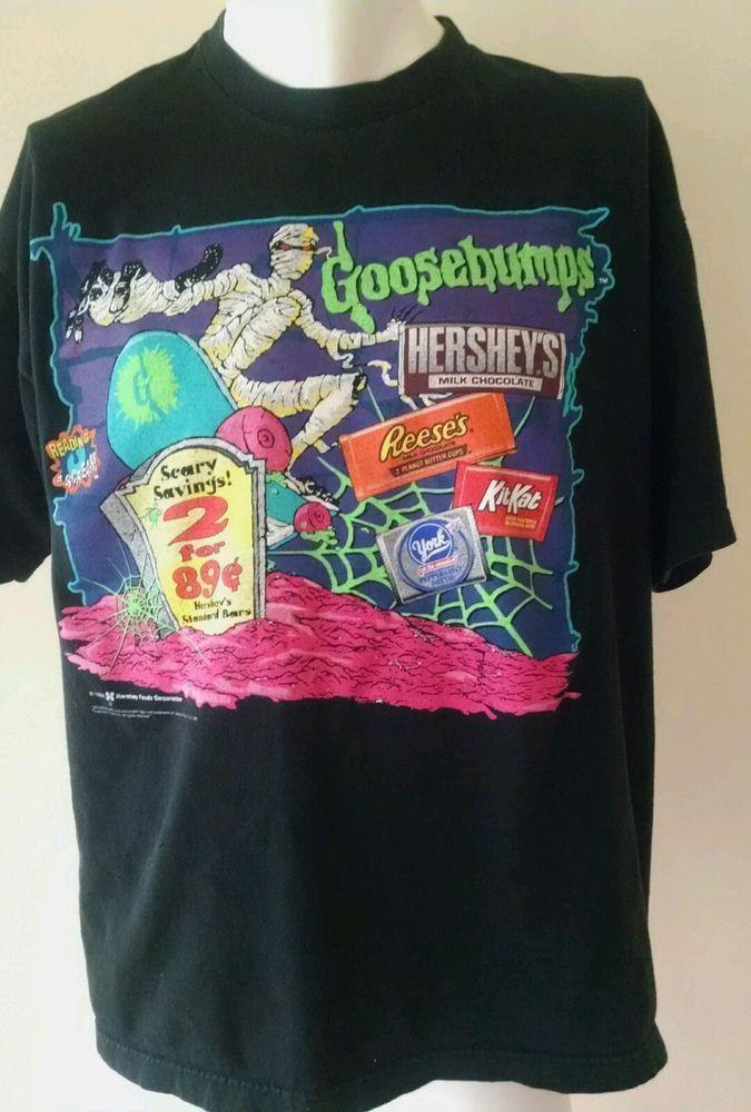 e976929714 Vintage 90s Goosebumps Hershey Speedway XL T-Shirt  Goosebumps  GraphicTee