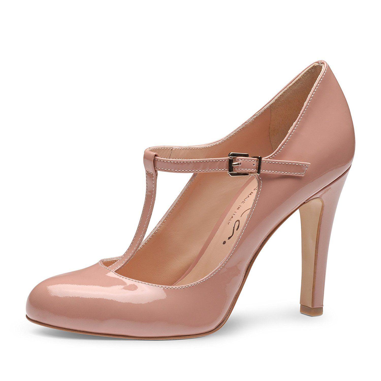 Le printemps et l'été femme chaussures à talons hauts en satin pointe Code gros chaussures femmes ,beige,42