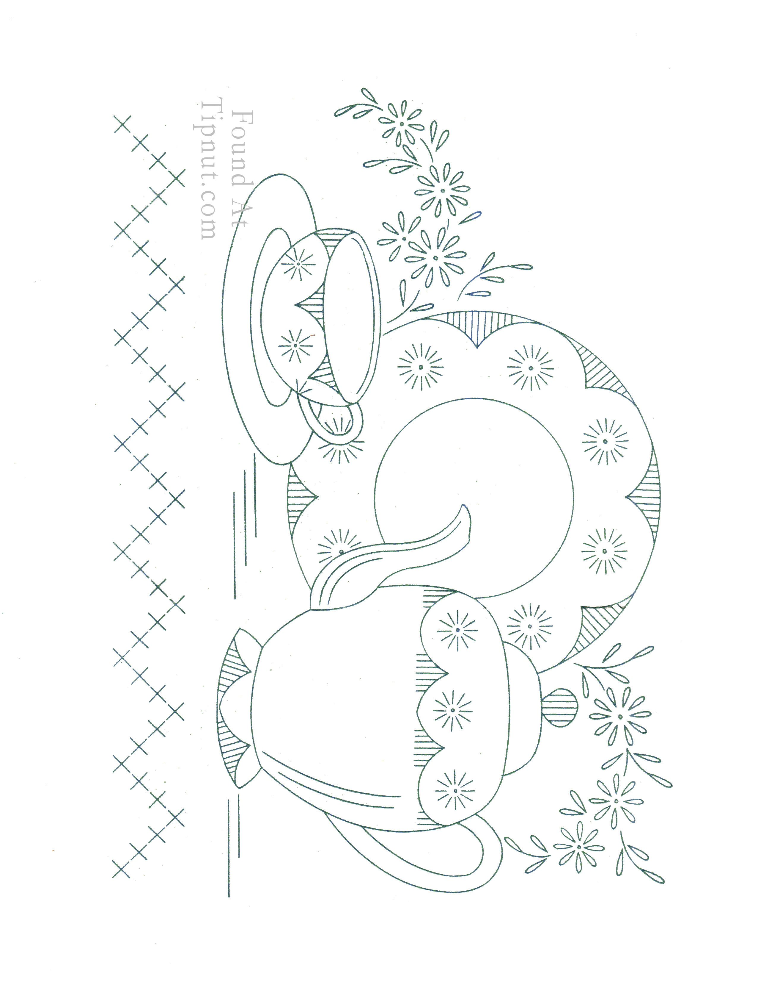 Tea Setting U0026 Plate And Many More Vintage Designs Part 58