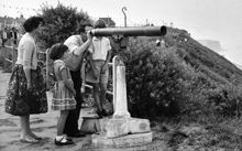 Family at The Telescope c1955