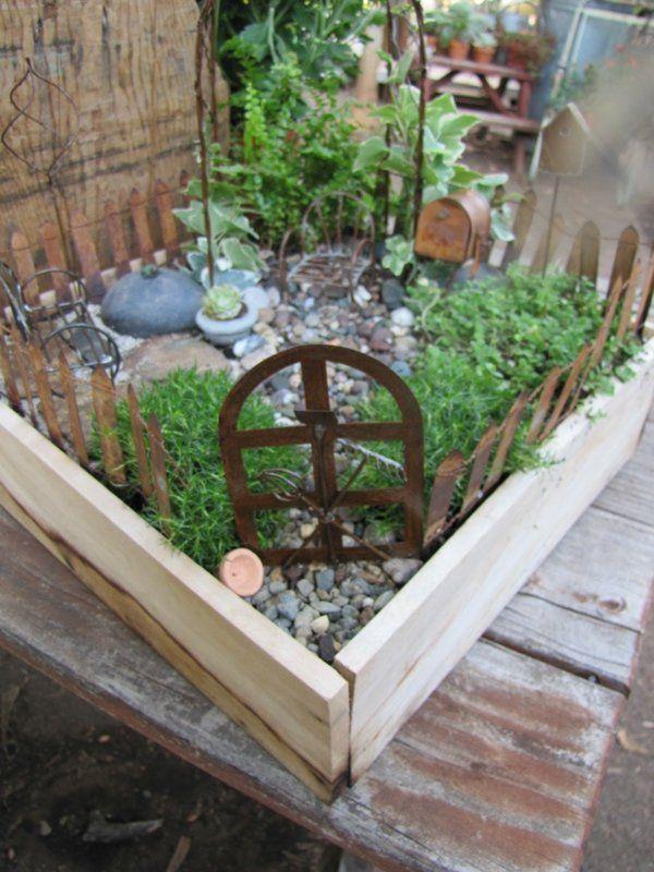 Le mini jardin d 39 ext rieur en quelques exemples mini - Jardin japonais miniature exterieur ...