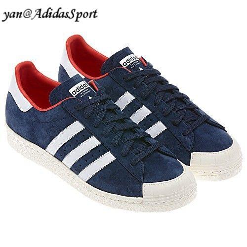 marioneta esculpir menta  Adidas Superstar Originals Semiconcha Hombres Suede Zapatillas Azul Marino/Blanco/Rojo  Outlet Online 2014   Zapatillas azules, Adidas superstar, Adidas