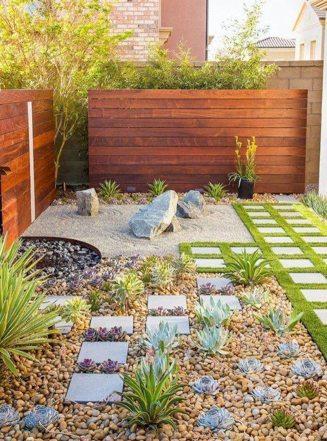 Stunning Rock Garden Landscaping Ideas 12 Greatlandscapingideas Jardines Jardin Con Piedras Disenos De Jardines