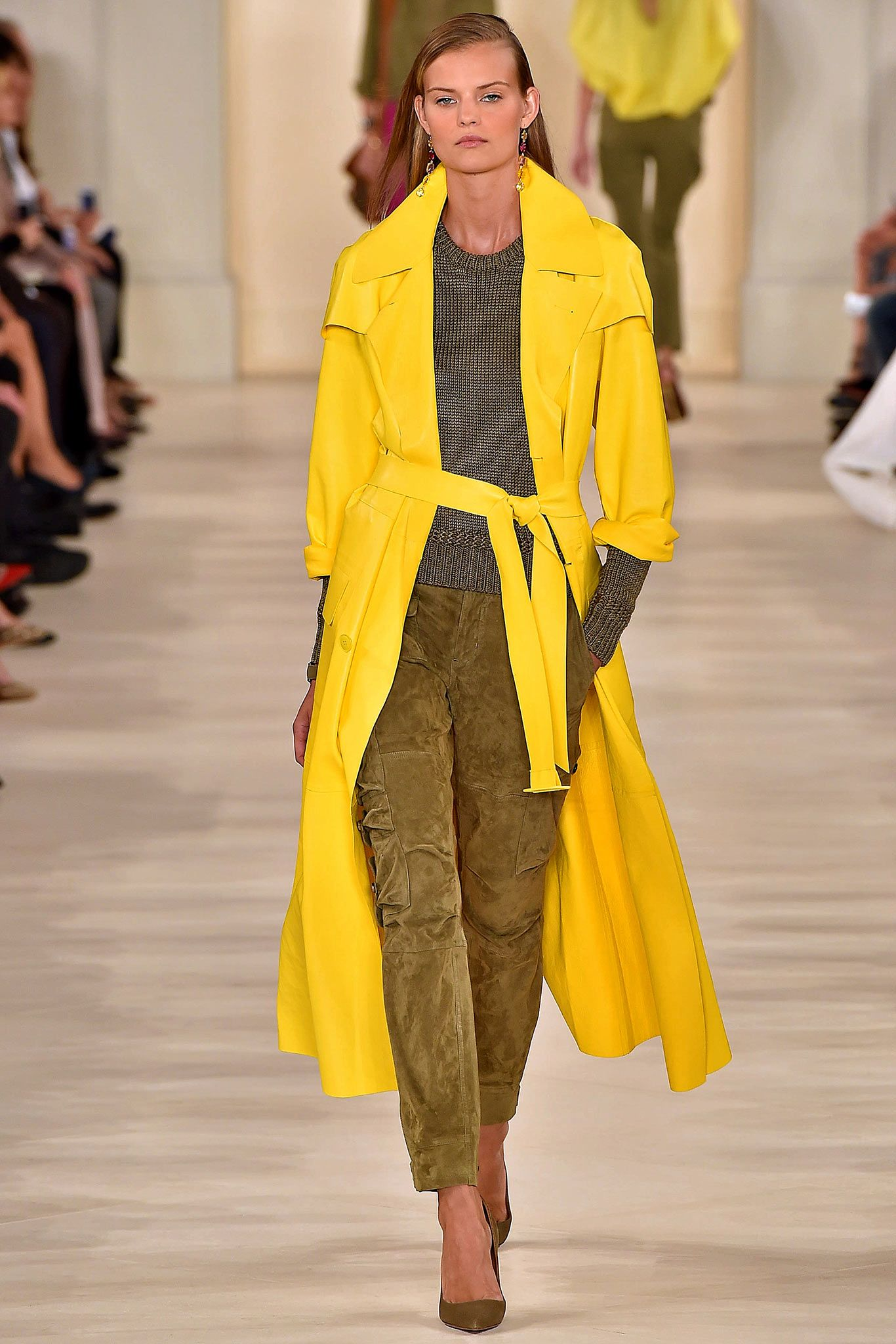 4b59a8c9ae3 Ralph Lauren Spring 2015 Ready-to-Wear Collection Runway Show ...