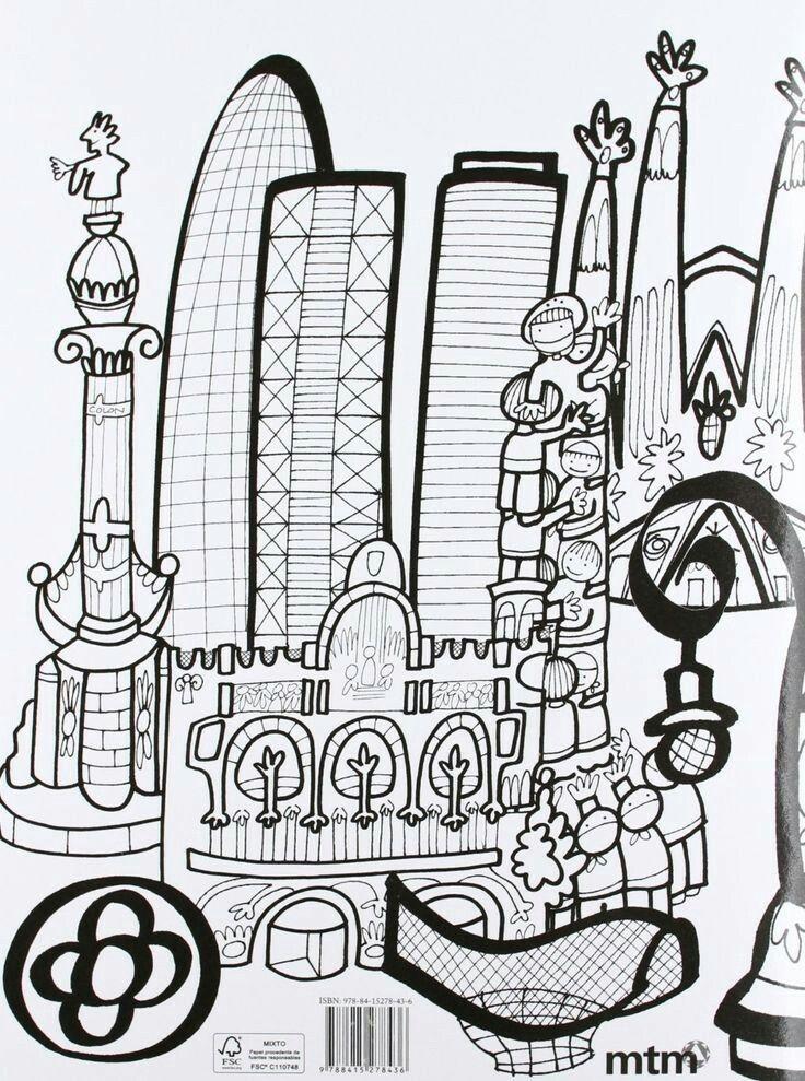 Dibujos  Proyecto Espaa  Monumentos importantes