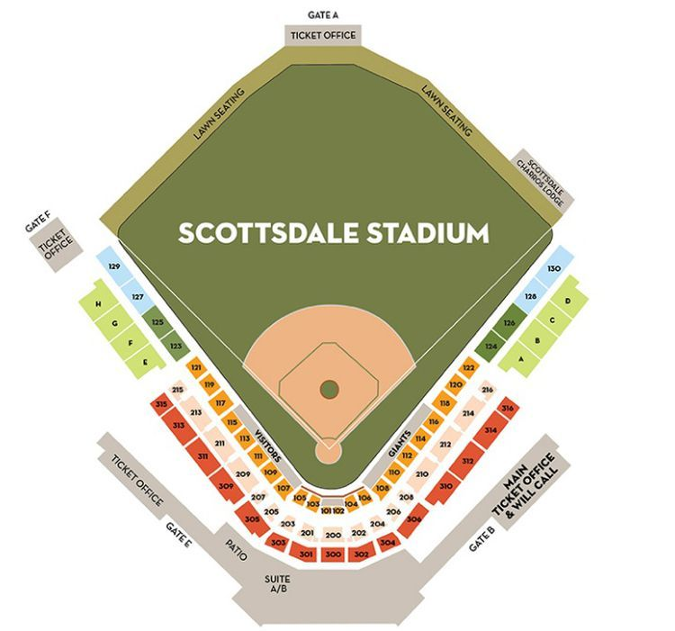 Tips For Visiting Arizona Spring Training Stadiums In 2020 Beach Chair With Canopy Stadium Visit Arizona