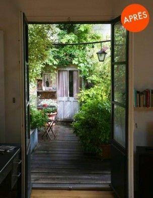 Agrandir Un Micro Balcon A Paris 10 E Apres Galerie Principal Large Garden Deco Patio Courtyard Garden