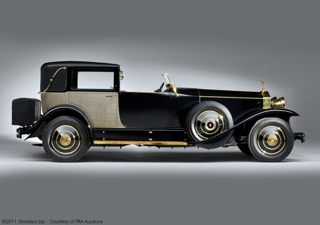 Brewster RollsRoyce Phantom I Riviera Town Brougham 1929 S390LR