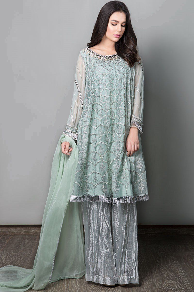 Latest Maria B Pret Stitched Summer Dresses Designs 2020 21