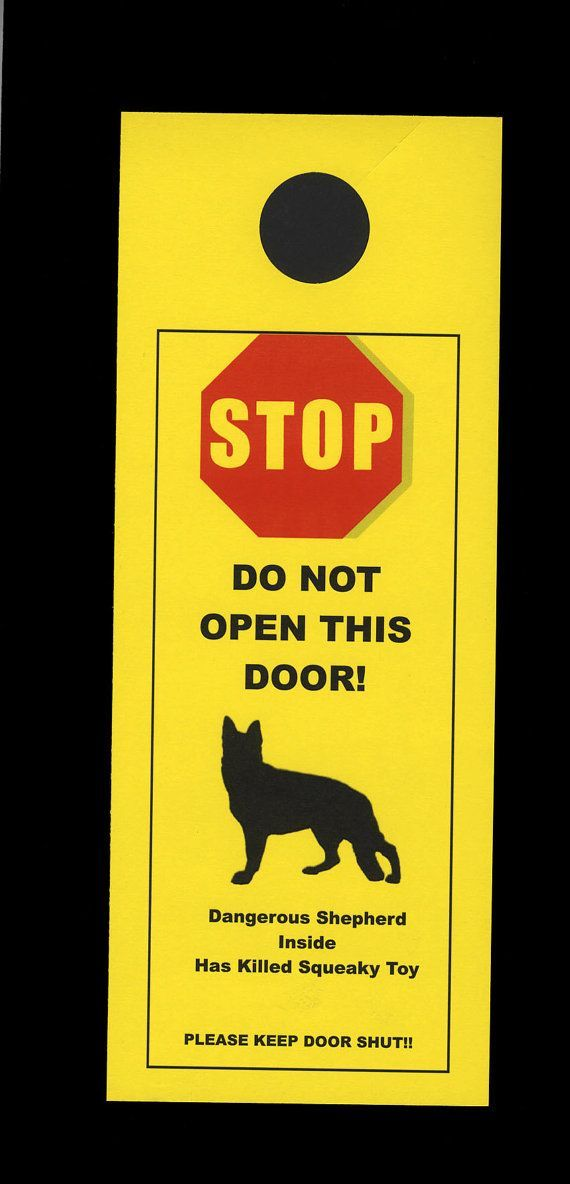 The Most Effective Signs Are Ones That Use Humor To Make Their Point And Of This Sign Is Avoid An Open Door Through Which A Dog Can Escape