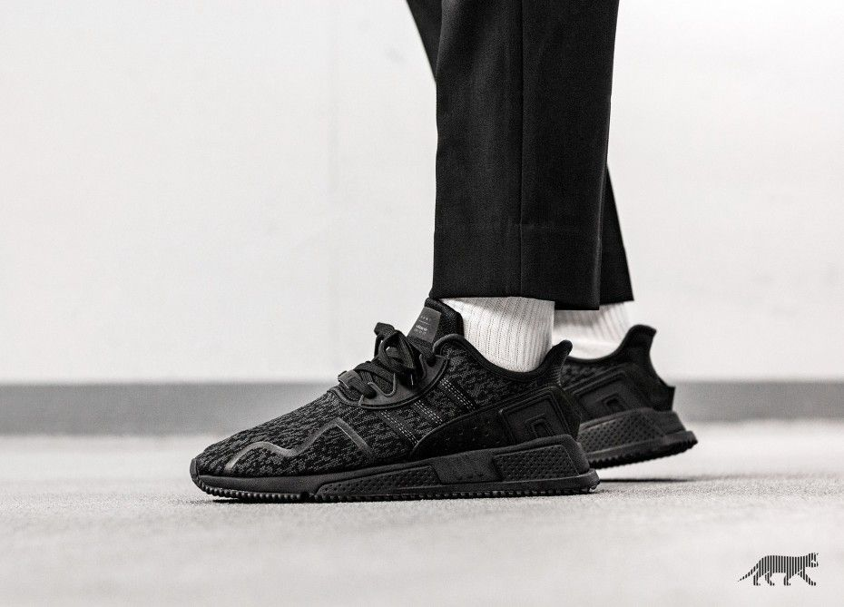 los angeles 8e640 0299f adidas EQT Cushion ADV Triple Black in 2019 | Collections ...