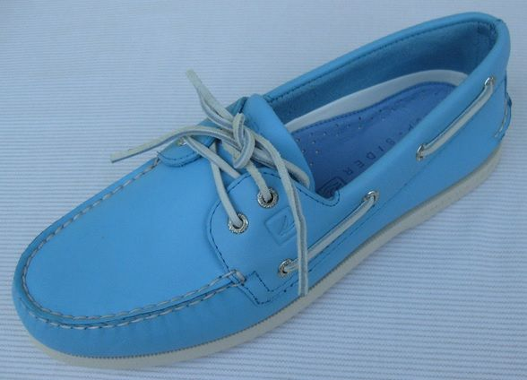 Baby Blue Sperry | Sperry boat shoe