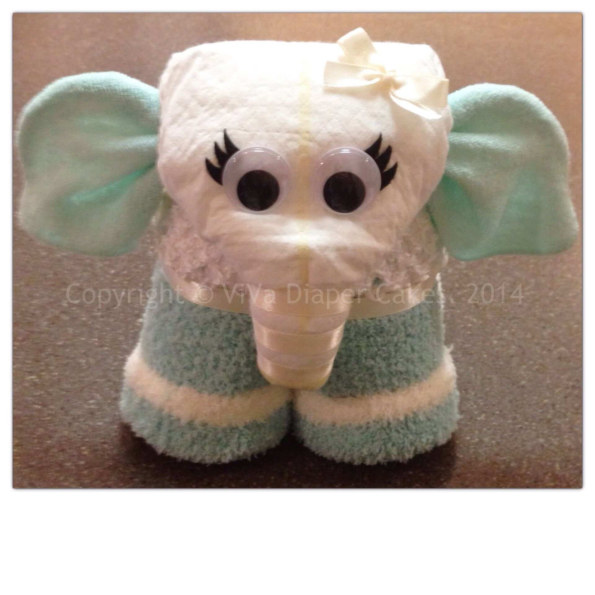 Elephant Diaper Cake Instructions Free