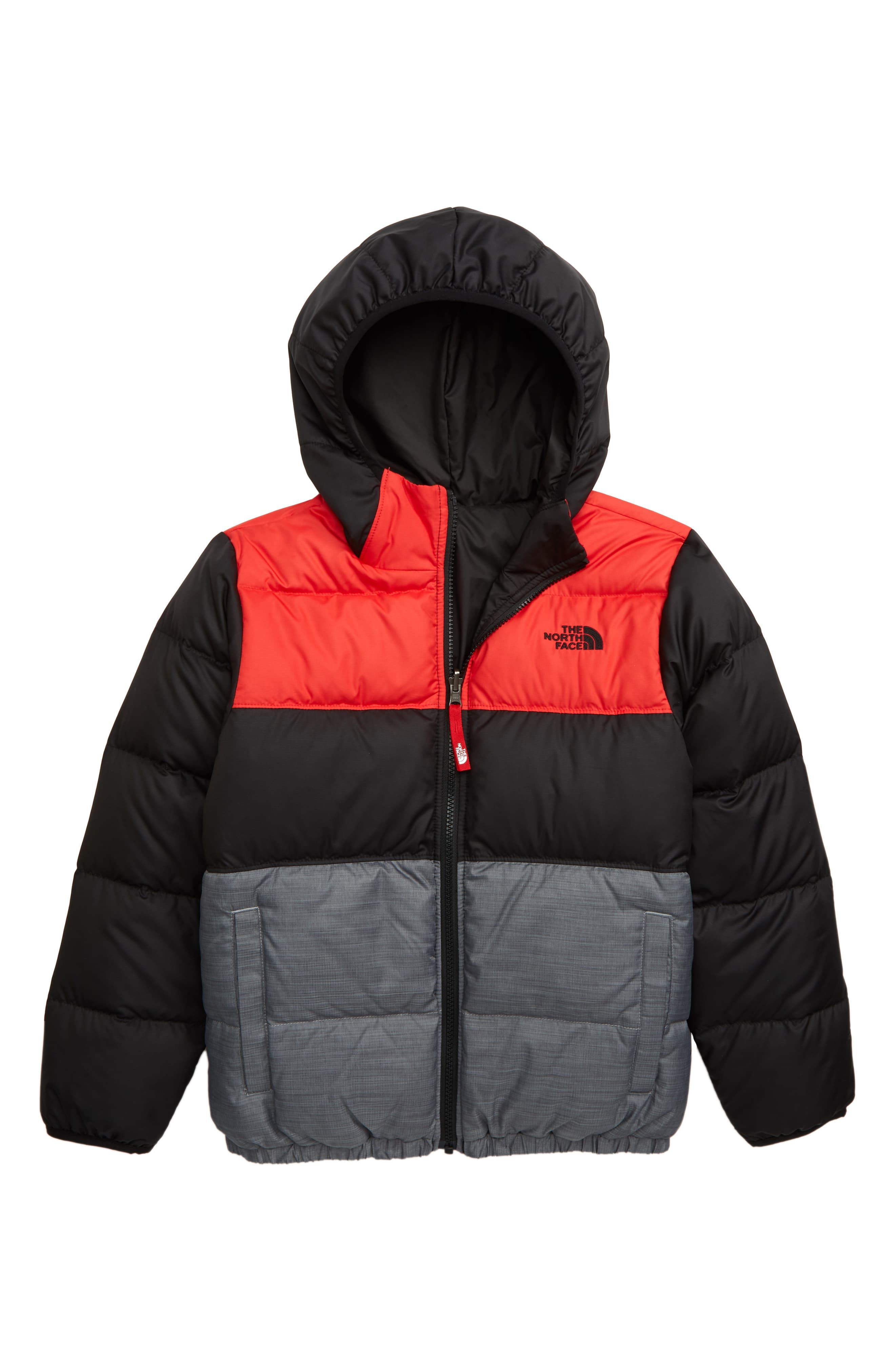 The North Face Kids Moondoggy Water Repellent Reversible Down Jacket Big Boys Nordstrom Down Jacket North Face Kids Boys Designer Clothes [ 4048 x 2640 Pixel ]