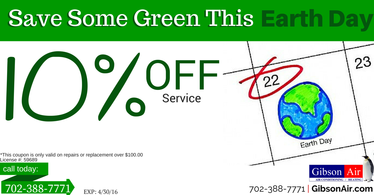 10 off your HVAC service in las vegas coupon. Now's the