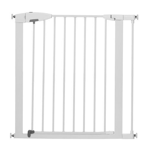 Munchkin Easy Close Metal Safety Gate White Safe For Babies