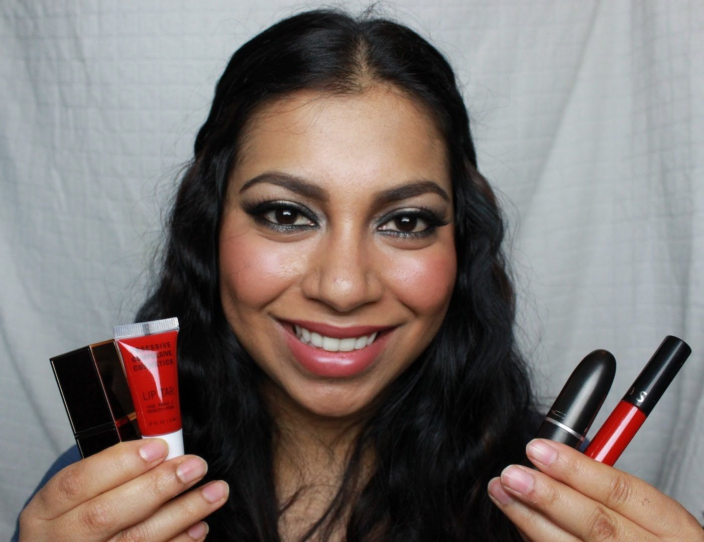 Red Lipsticks For Asian Indian Olive Tanned Skin Tones