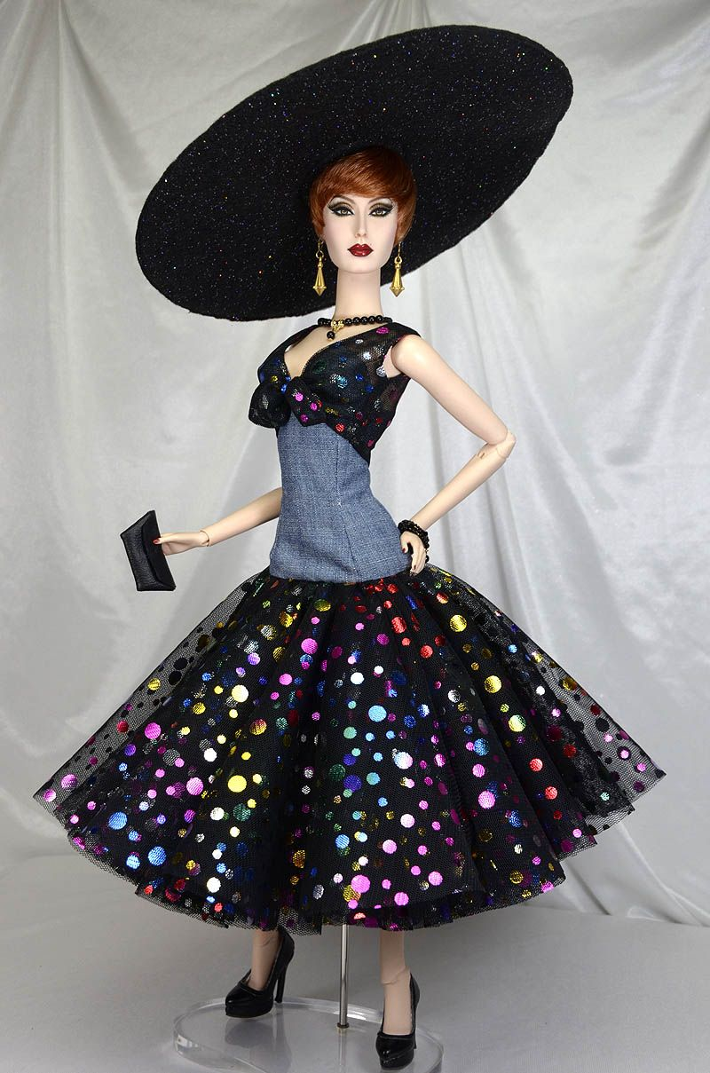 """It's My Party"" OOAK ensemble  By Michael Scott Designs for Sybarite and Ficon…"