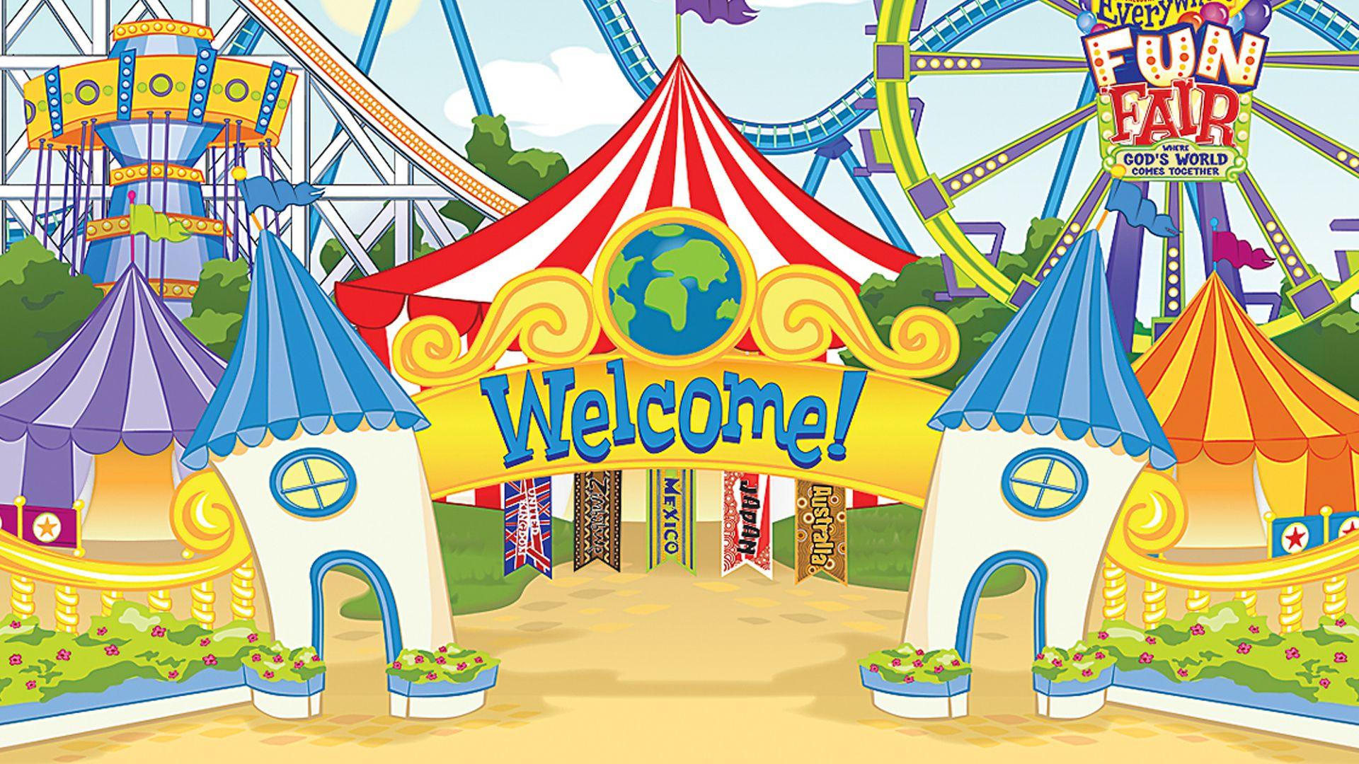 Welcome   رسومات جميلة   Fair pictures, Fun fair, Vacation