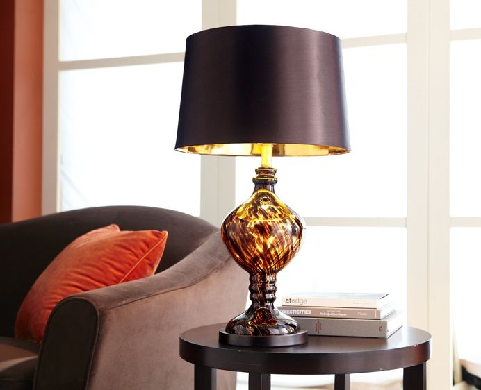 Pier 1 Tortoise Glass Table Lamp....I Love This Lamp