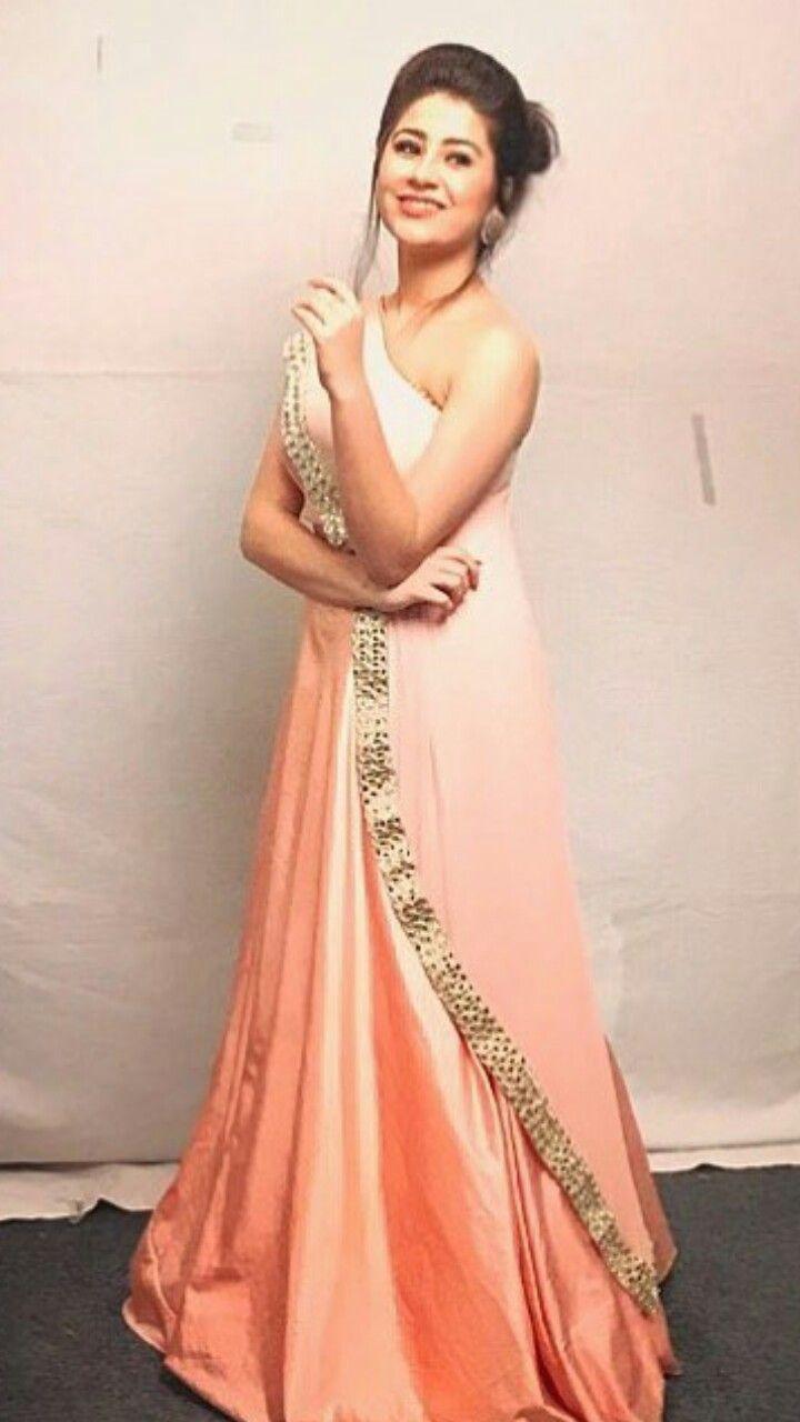 Aditi Bhatia Zeegoldawards Tellywood Actors Pinterest