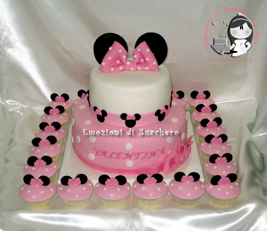 sheet cakes with shoes on them | Minnie Pink cake and ...