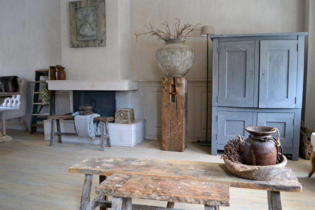Woonkamer Cottage Stijl : Ideeën woninginrichting landelijke stijl interieur ideeen