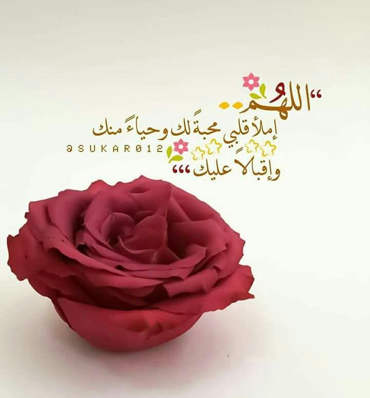 اللهم املا قلبي محبة بك Beautiful Islamic Quotes Islamic Pictures Islam Quran