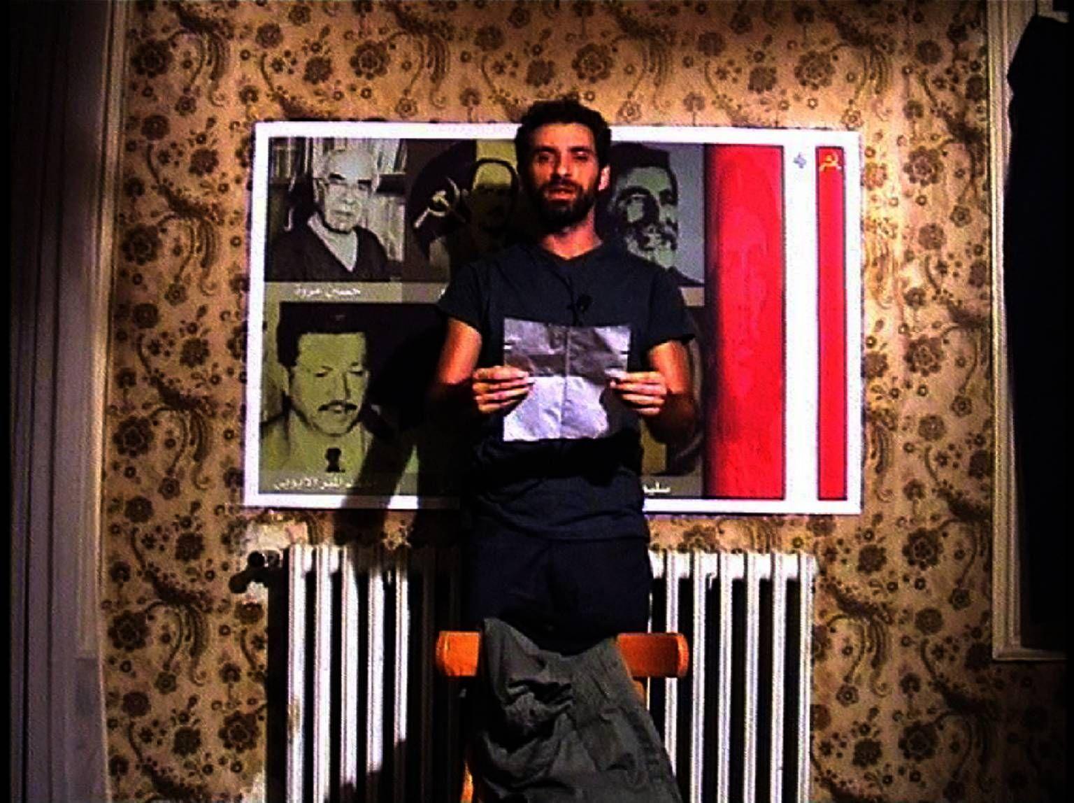 Rabih Mroué, Three Posters,