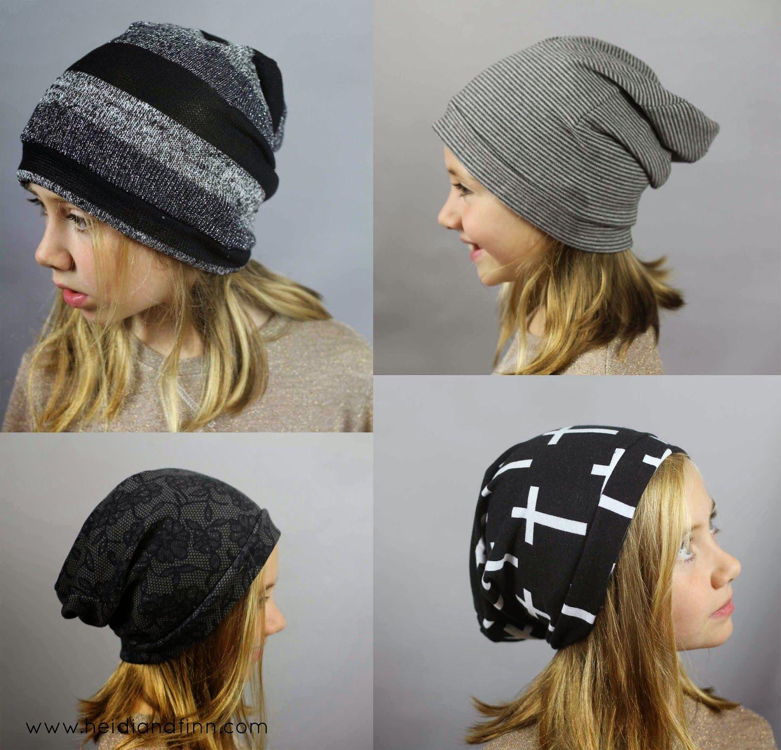 3a31b08390c HeidiandFinn moderne porte pour les enfants  Slouchy Beanie Hat - Patron  gratuit pour les vêtements