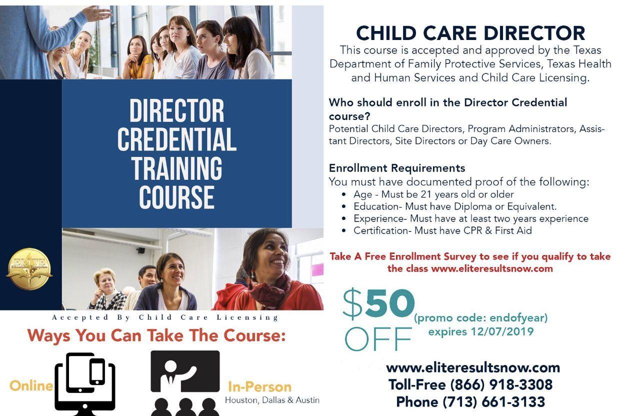 Director credential program