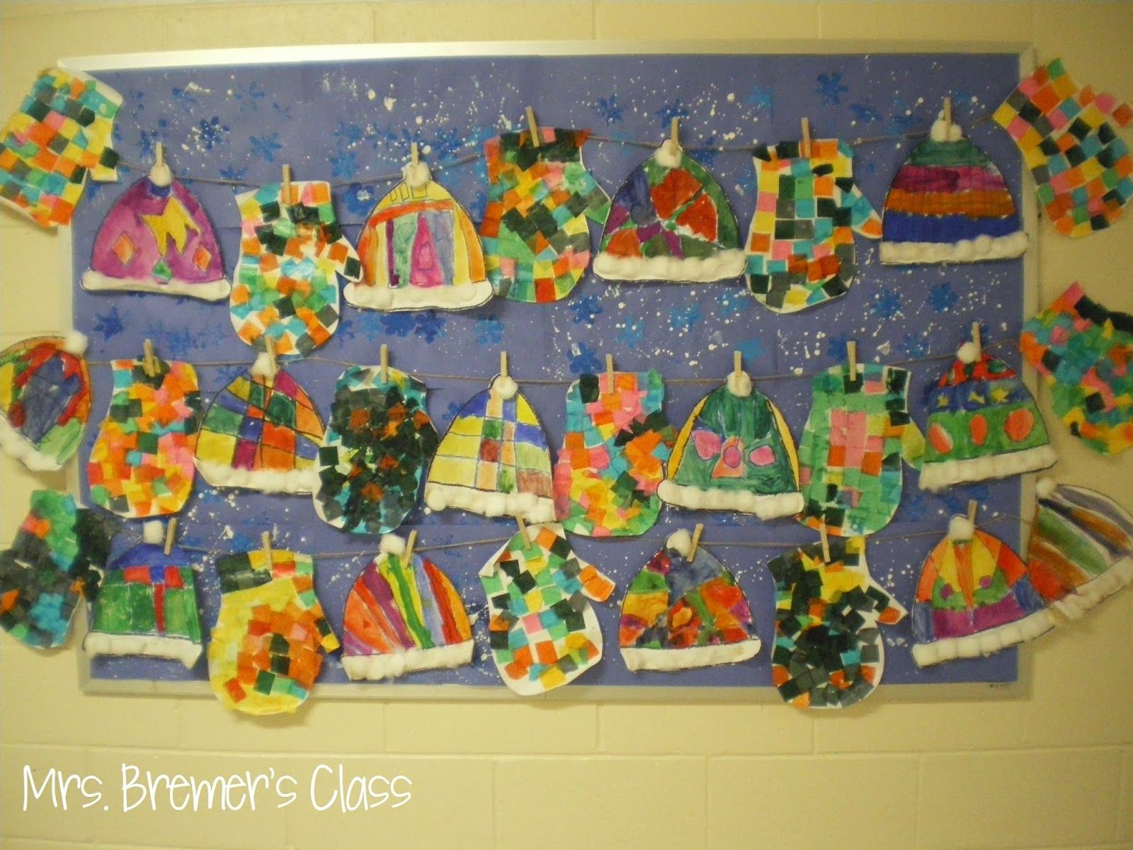 Winter Art Activities For Kindergarten Based On The Books The Hat And The  Mitten By Jan