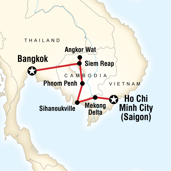 10 Day Cambodia On A Shoestring Lonely Planet Itinerary
