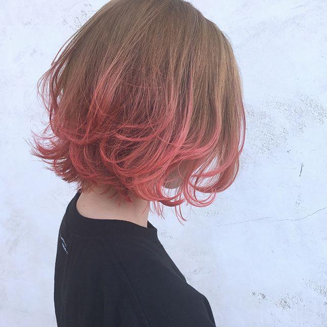 ボブに似合うヘアカラーカタログ 30代女性に人気の髪色をご紹介