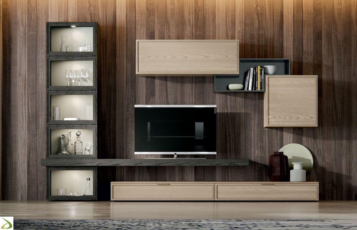 Arredamento Soggiorno Mobile Tv.Soggiorno Caramel Nel 2019 Arredamento Moderno Soggiorno