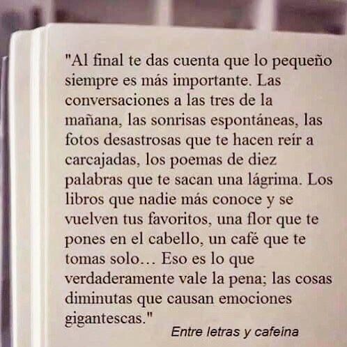 ...las cosas diminutas que causan emociones gigantescas... #reflexiones #unabodaoriginal http://www.unabodaoriginal.es