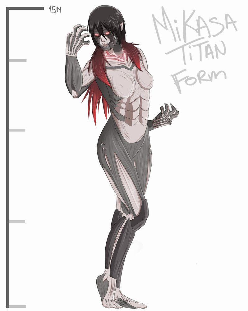 Mikasa in Titan form | Mikasa Ackerman | Pinterest