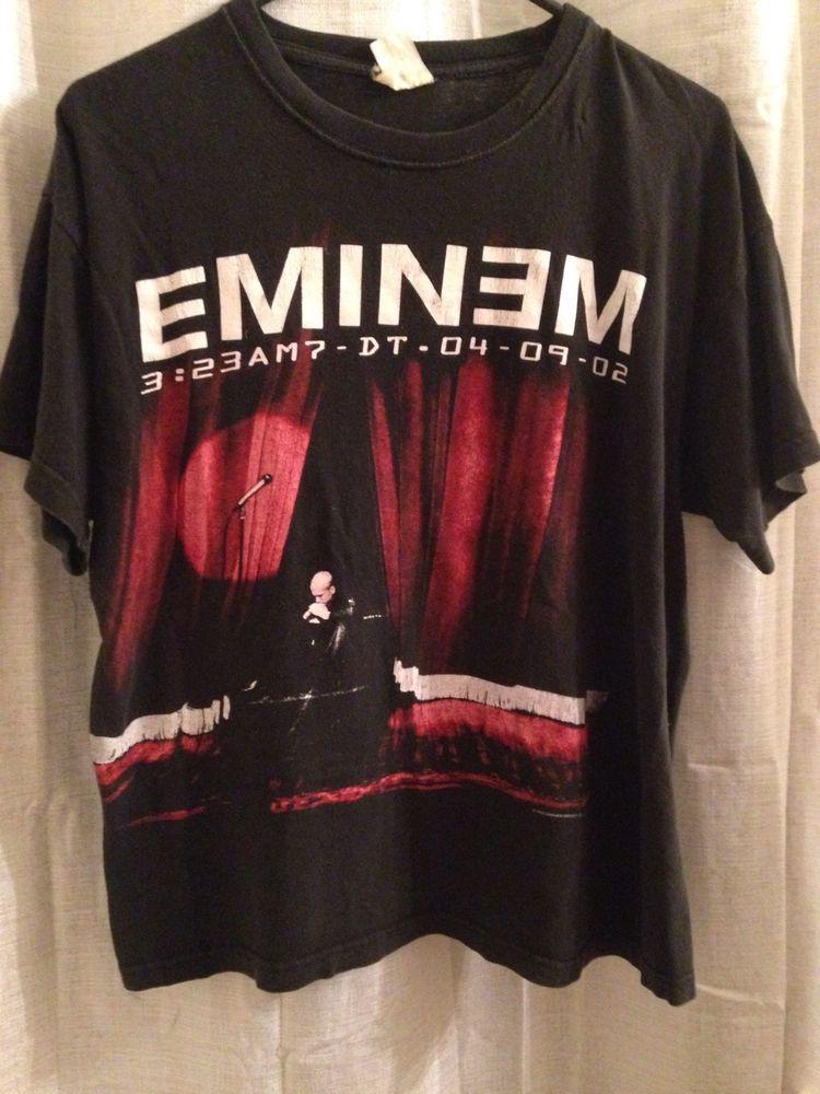 53e25b6dc Rare, Vintage The Eminem Show T Shirt   vintage and beyond   Eminem ...