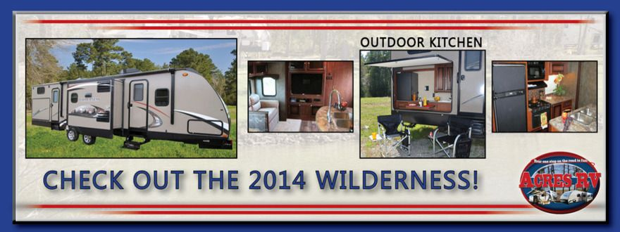 Check Out Our New Heartland Wilderness Travel Trailers