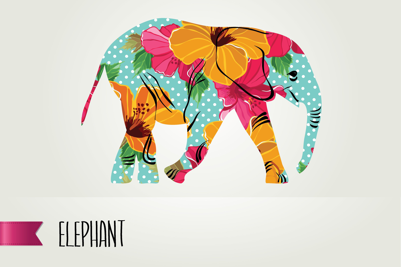 Elefante ilustrado | Diseño | Pinterest | Elefantes y Ilustraciones