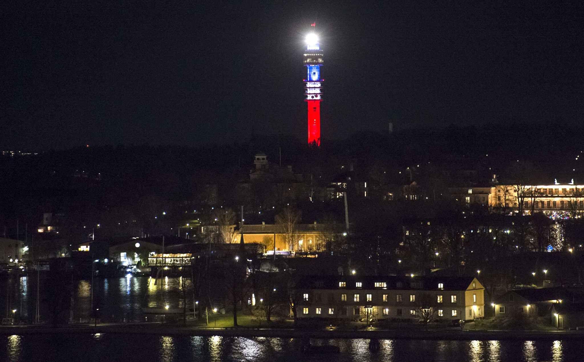 Le monde en Bleu Blanc Rouge Paris, Stockholm, Le monde