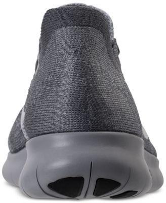 1d3c208143cb Nike Women s Free Run Flyknit 2017 Running Sneakers from Finish Line -  Black 7.5