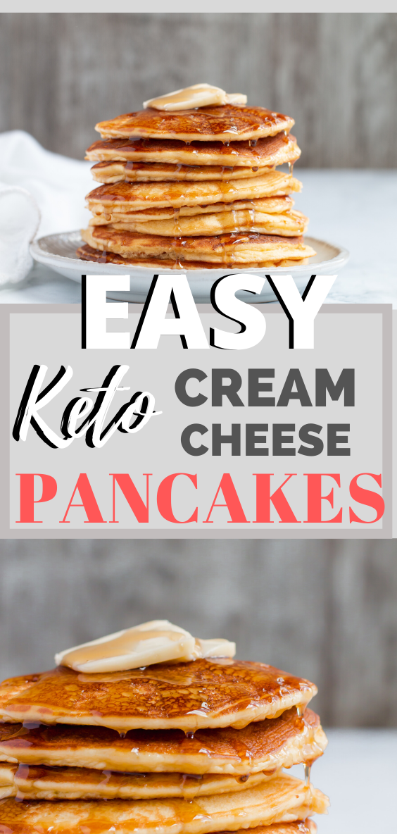 Easiest Keto Pancakes Ever - Fluffy and Delicious!!!