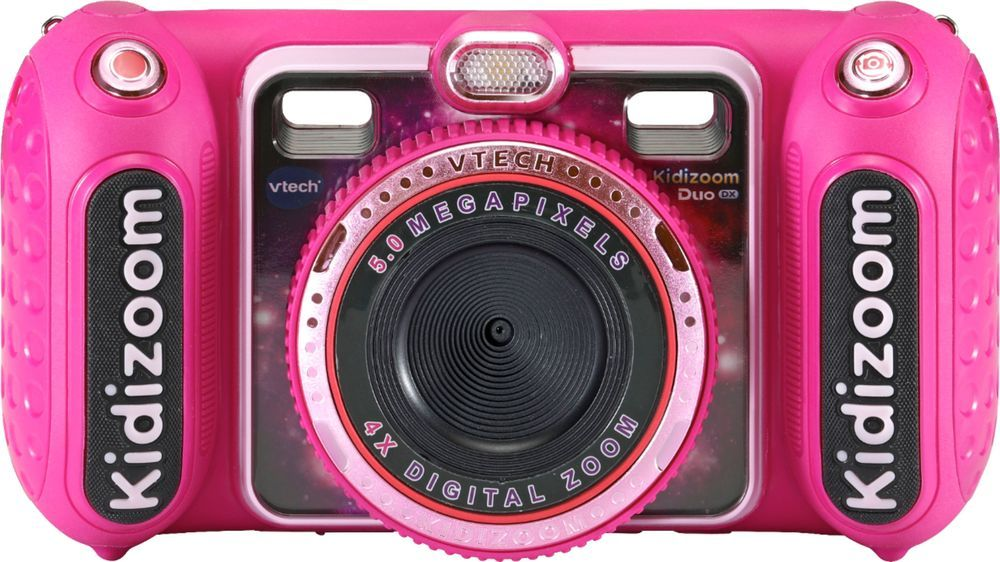 Vtech Kidizoom Duo Dx 5 0 Megapixel Digital Camera Pink 80 520050 In 2020