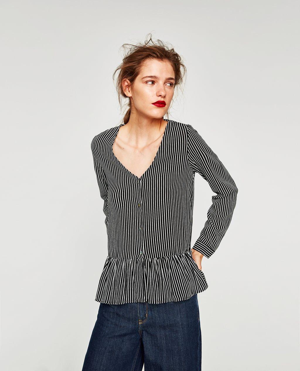 6f8c4f080 Camisas y blusas de mujer | Rebajas Online | ZARA España | Rebajas ...