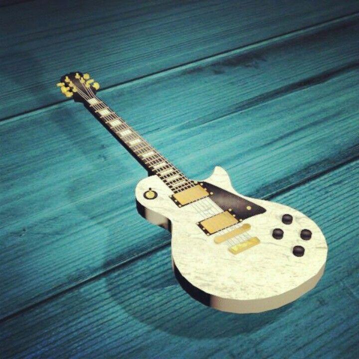 Guitar Les Paul 3D Design